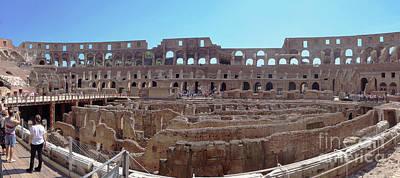 Photograph - Colosseum Rome 3 by Rudi Prott