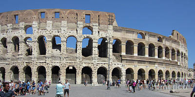 Photograph - Colosseum Rome 4 by Rudi Prott