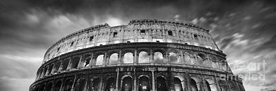 Ancient Roman Photograph - Colosseum - Rome by Rod McLean