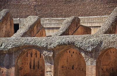 Photograph - Amphitheater Archs by JAMART Photography