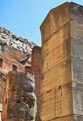 Photograph - Columns Of The Colosseum  by JAMART Photography
