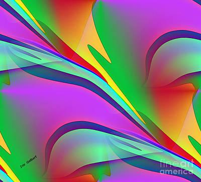 Digital Art - Colour    2 by Iris Gelbart