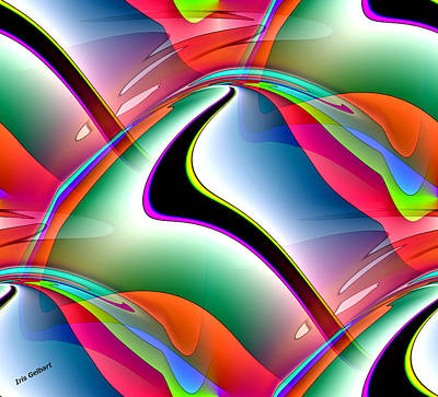 Digital Art - Colour 3 by Iris Gelbart
