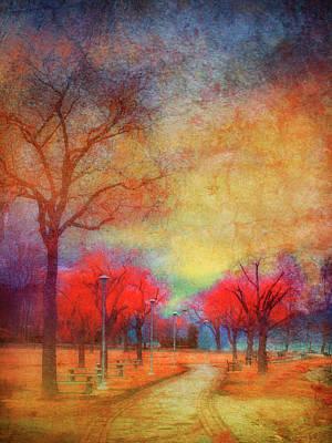 Colour Burst Print by Tara Turner