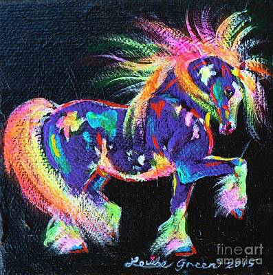 Painting - Colour Dance Cob by Louise Green