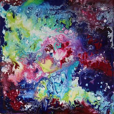 Colour Explosion Art Print by Bitten Kari