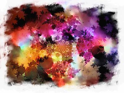 Digital Art - Colour Impressions by Contemporary Art