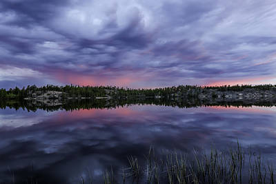 Photograph - Colour In The Midnight Sky by Valerie Pond
