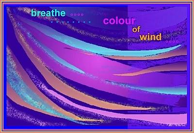 Digital Art - Colour Of Wind by Julia Woodman