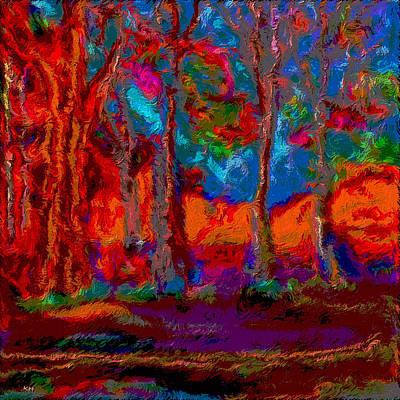 Colour Vg Style Art Print by Karen Harding