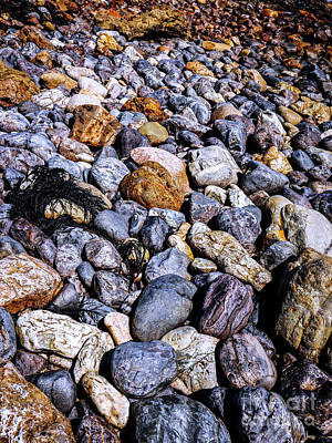 Photograph - Coloured Rocks Of Trial Harbour #2 by Lexa Harpell