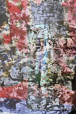 Photograph - Coloured Surface by Nareeta Martin
