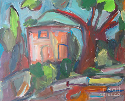 Abstact Landscapes Painting - Colouresque 3 by Marlene Robbins