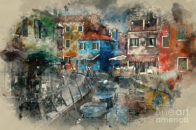 Photograph - Colourful Burano by Jack Torcello