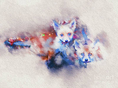 Photograph - Colourful Cubs by Jack Torcello