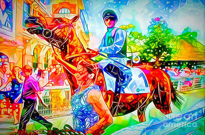 Photograph - Colourful Deauville by Jack Torcello