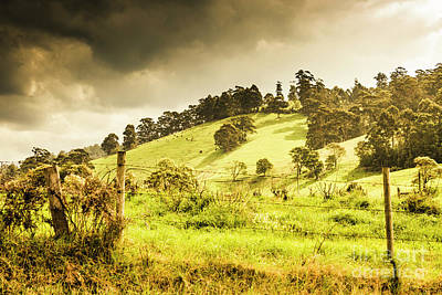 Stunning Photograph - Colourful Fields And Farmyards by Jorgo Photography - Wall Art Gallery