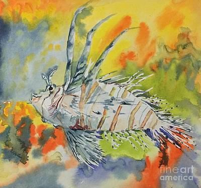 Painting - Colourful by Gita Vasa