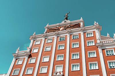 Photograph - Colourful Madrid Architecture by Georgia Mizuleva