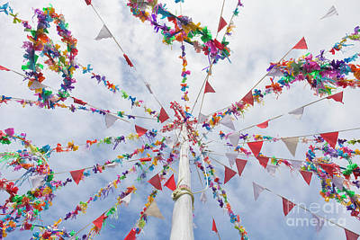 Photograph - Colourful Maypole by Terri Waters