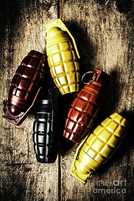 Mission Wall Art - Photograph - Colourful Munitions  by Jorgo Photography - Wall Art Gallery