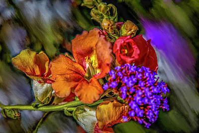 Mixed Media Royalty Free Images - Colourful Pb #h8 Royalty-Free Image by Leif Sohlman