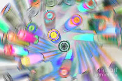 Digital Art - Colourful Pens by Wendy Wilton