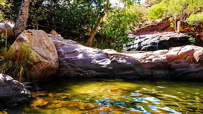Colourful Rocks - Gunlom - Kakadu National Park Art Print