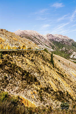 Rocky Mountains Photograph - Colourful Stony Highlands by Jorgo Photography - Wall Art Gallery