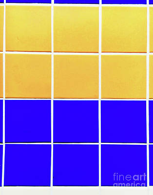 Ceramics Photograph - Colourful Tiles Background by Tom Gowanlock