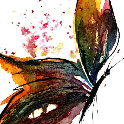 Painting - Colourful Wings by Garima Srivastava