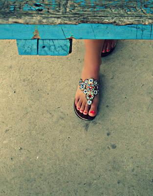 Photograph - Colourfully Cute by Cyryn Fyrcyd