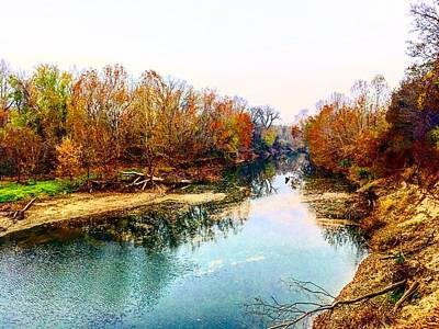 Photograph - Colours Along Mill Creek by Michael Oceanofwisdom Bidwell