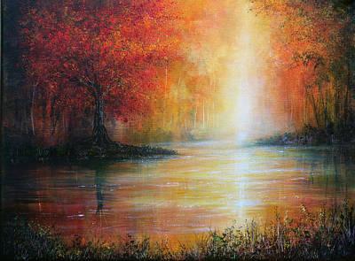 Colours Of Autumn Art Print by Ann Marie Bone