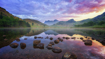 Photograph - Colours Of Blea Tarn by James Billings