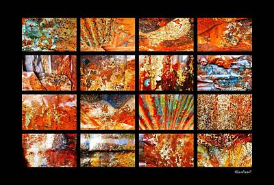 Photograph - Colours Of Corrosion  by Lexa Harpell
