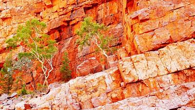 Photograph - Colours Of Ormiston Gorge, Northern Territory #2 by Lexa Harpell