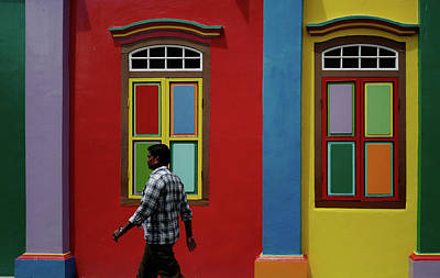 Photograph - Colours Of Singapore by Jocelyn Kahawai