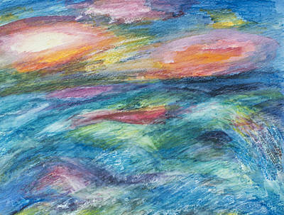 Painting - Colours Of The Sea 4 by Wendy Le Ber