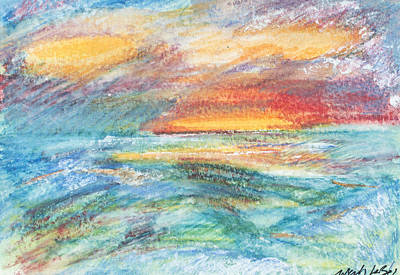 Painting - Colours Of The Sea 6 by Wendy Le Ber