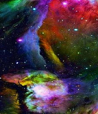 Digital Art - Colours Of The Universe by Rod Jellison