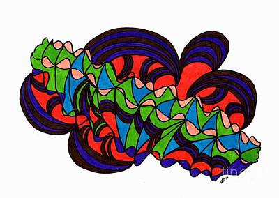 Drawing - Colours by Susan Dimitrakopoulos