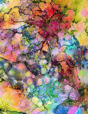 Painting - Colours - The Magic Of Life by Klara Acel