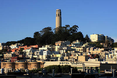 Photograph - Colt Tower, San Francisco, California by Aidan Moran