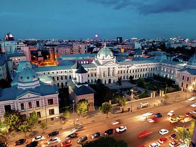 Photograph - Coltea Hospital, Bucharest by Chris M