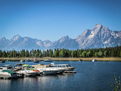 Photograph - Colter Bay by EG Kight