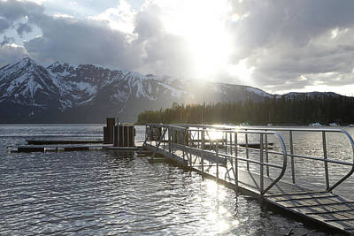 Photograph - Colter Bay Sunlight by Dan Sproul