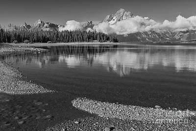 Photograph - Colter Bay Tranquility - Grand Teton National Park by Sandra Bronstein