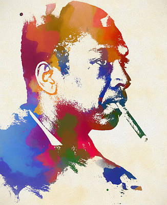 Painting - Coltrane by Dan Sproul