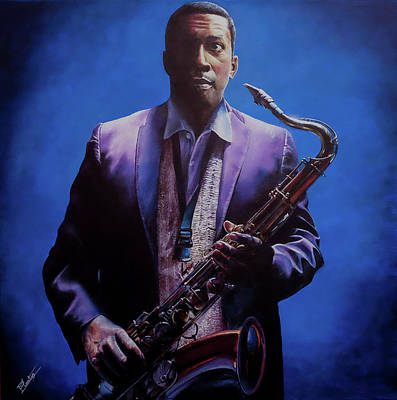 Painting - Coltrane by Pascal Martos